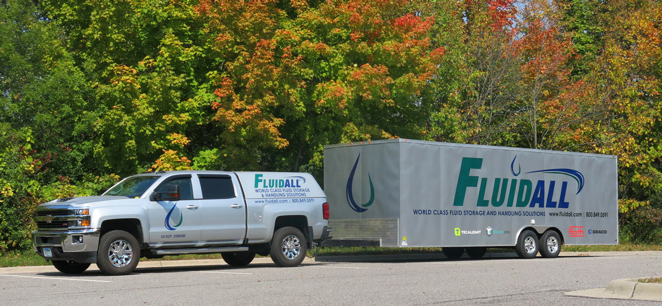 Fluidall Truck and Trailer