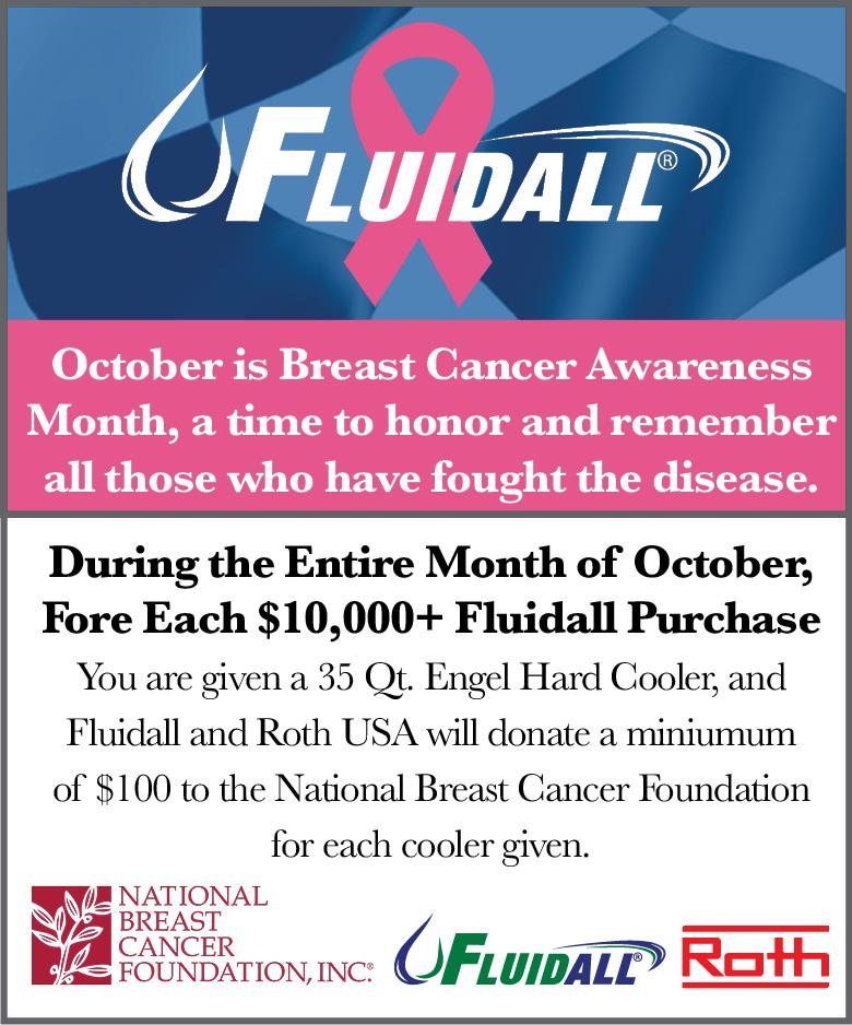 Fluidall's Breast Cancer Awareness Sponsorship