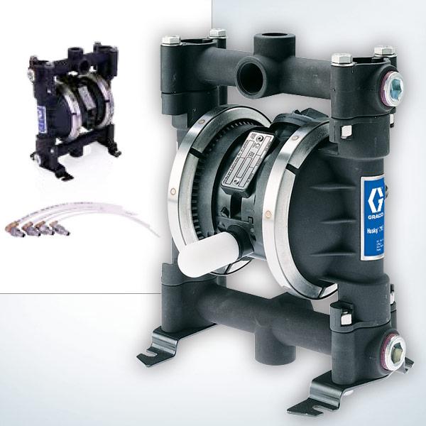 Graco's System Husky 716 Evacuation Pump Kit
