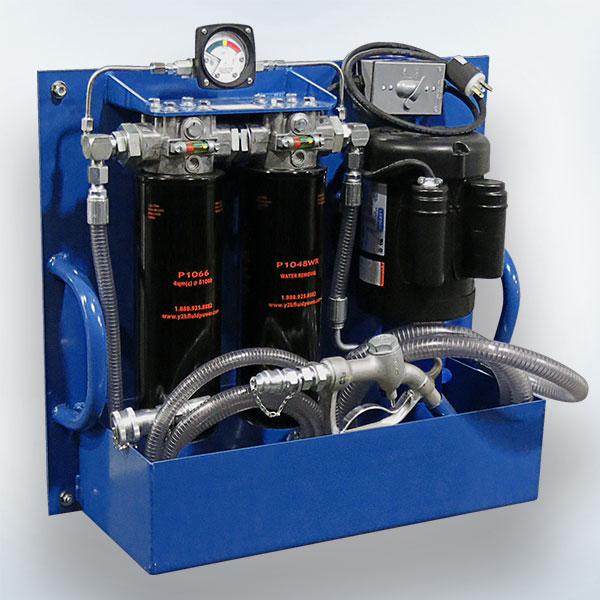 Portable Oil Filtration for Double Wall Tanks