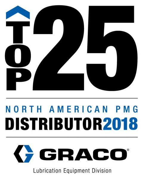 Graco TOP 25 North American PMG Distributor for 2018