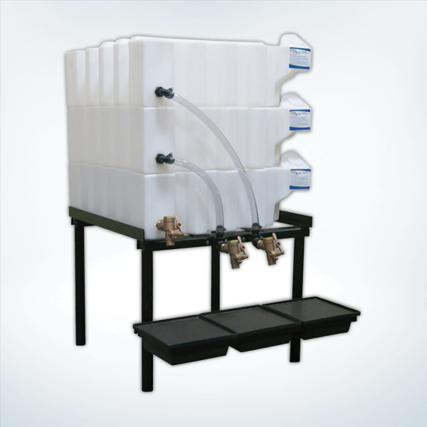T35- ... & Tote-A-Lube Stackable Storage Tanks | Gravity Feed Systems