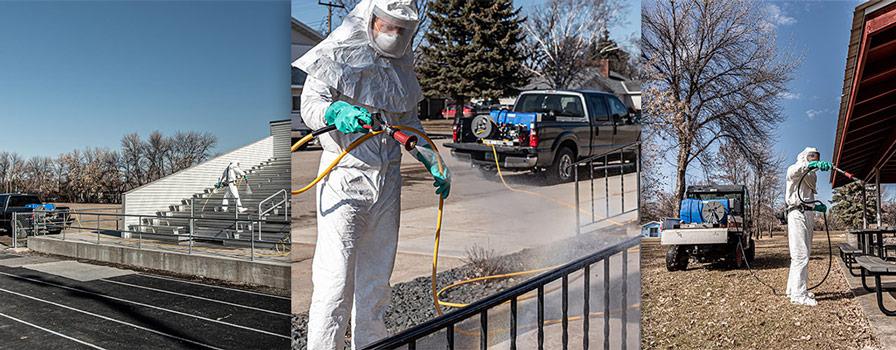 Commercial Sanitizing Sprayers