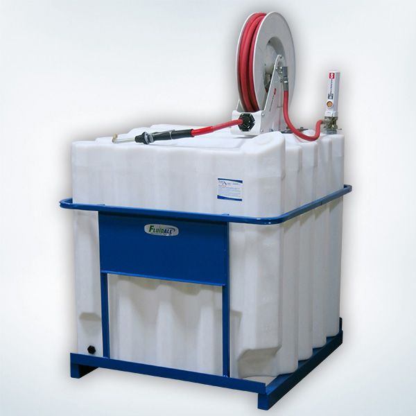 Caged Tank Packages for Coolant with Samson Equipment
