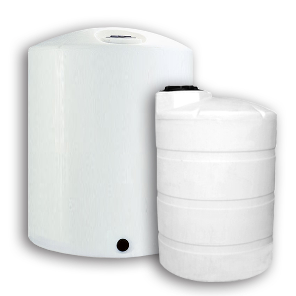 Cylindrical Tanks - Plastic Vertical Storage Tanks