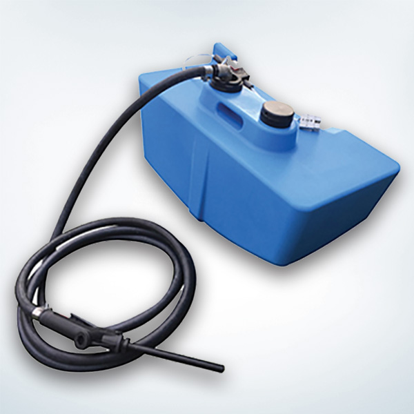 10 Gallon DEF Carrytank Fits Inside the Storage Compartment of the 106 Gallon Diesel Fuel Carrytank