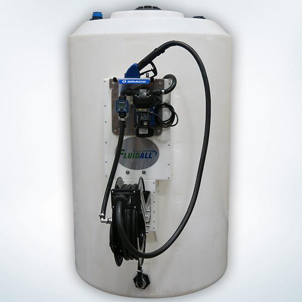 ECO DEF Pump and Hose Reel Package