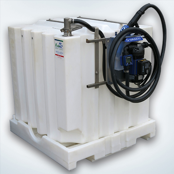 120 Gallon Portable DEF Tank System with Pump Package