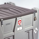 Fuel Carrytank with Lockable Cover