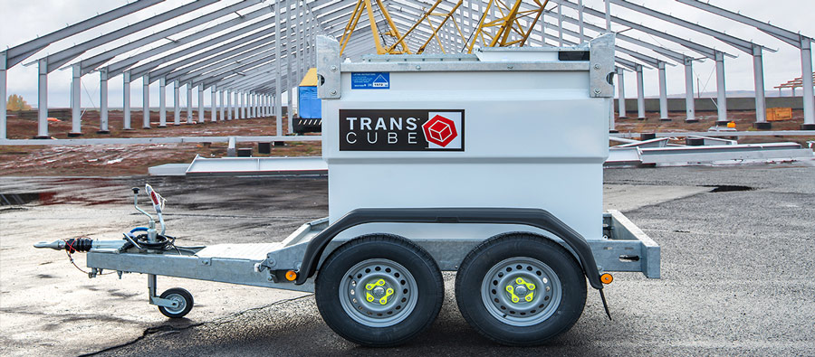 Mobile Fuel Tank, The TransCube Cab