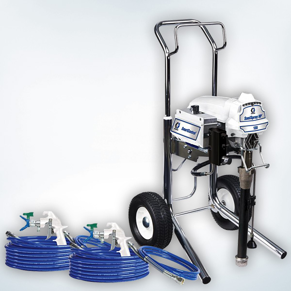 2-Gun Cart Airless Disinfectant Sprayer