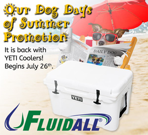 During Fluidall's Dog Days of Summer
