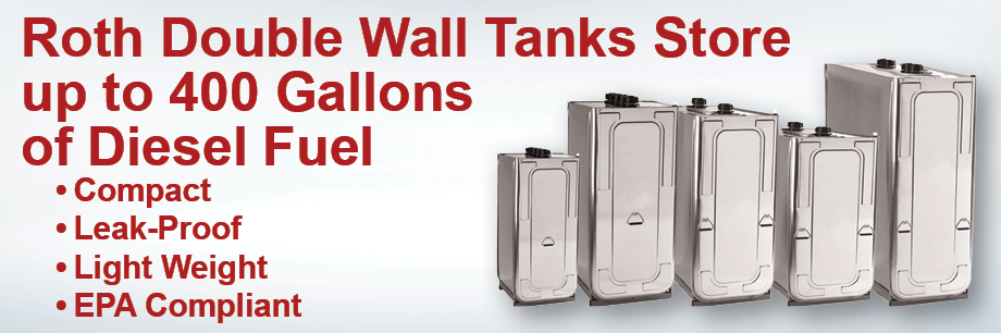 Roth Double Wall Diesel Fuel Tank