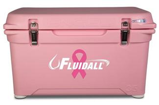 Pink 35qt. Engel Hard Sided High-Performance Cooler