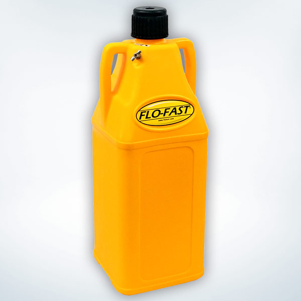 FLO-FAST 10 Gallon Container, Yellow