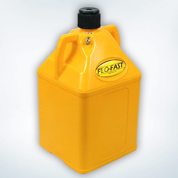 FLO-FAST 15 Gallon Container, Yellow