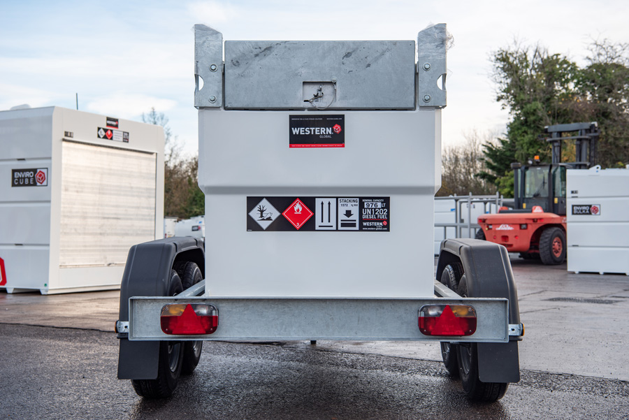 Double Walled Transcube Trailer Fuel Tanks