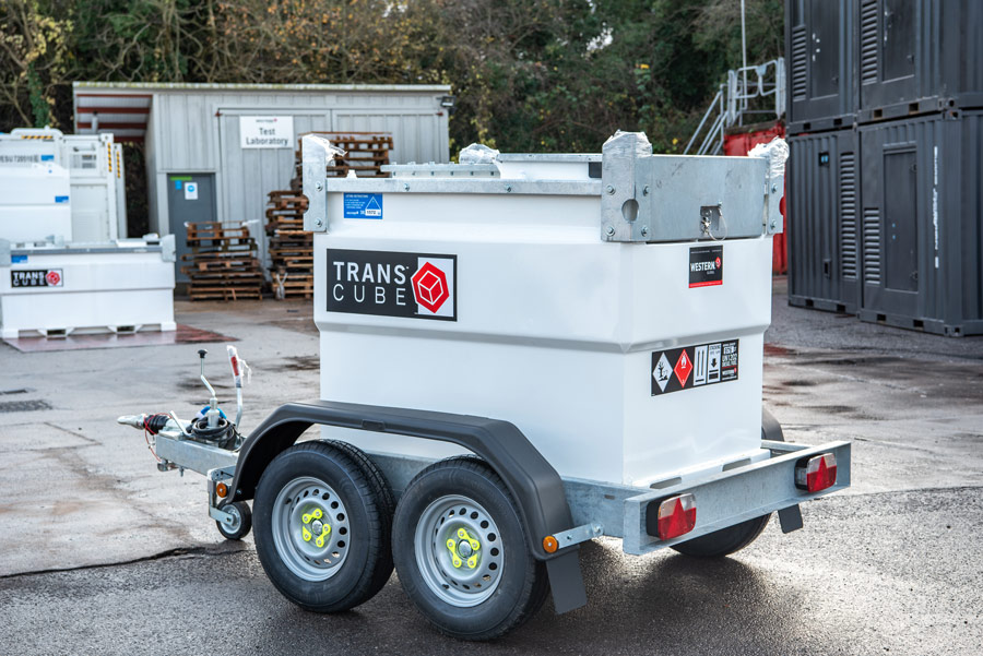 Transcube Cab and Trailer Diesel Fuel Tank