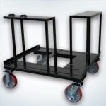 Mobile Skid with Casters
