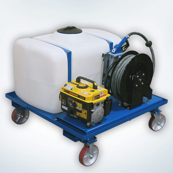 120V Portable DEF Skids with Gas Generator