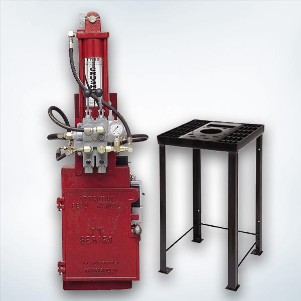 50Hz Electric Hydraulic Oil Filter Crusher