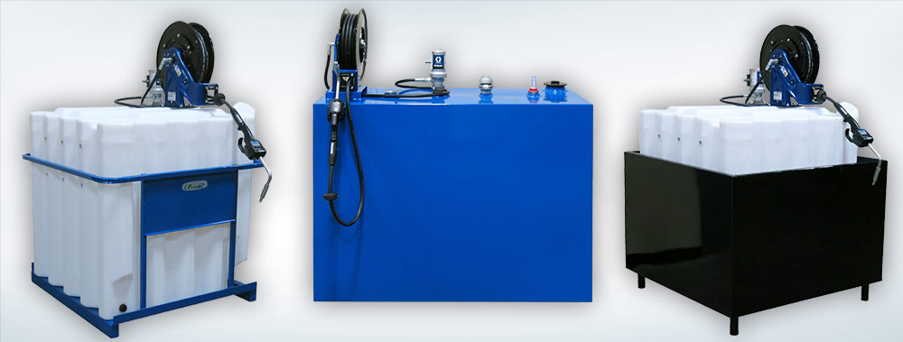 Oil Storage Tanks and Lube Equipment Packages