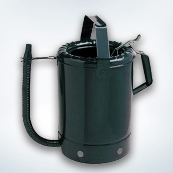 Metal Containers with Flexible Spout for Oil, 8Qt.