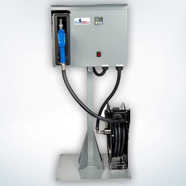 Pedestal DEF Dispenser with Hose Reel