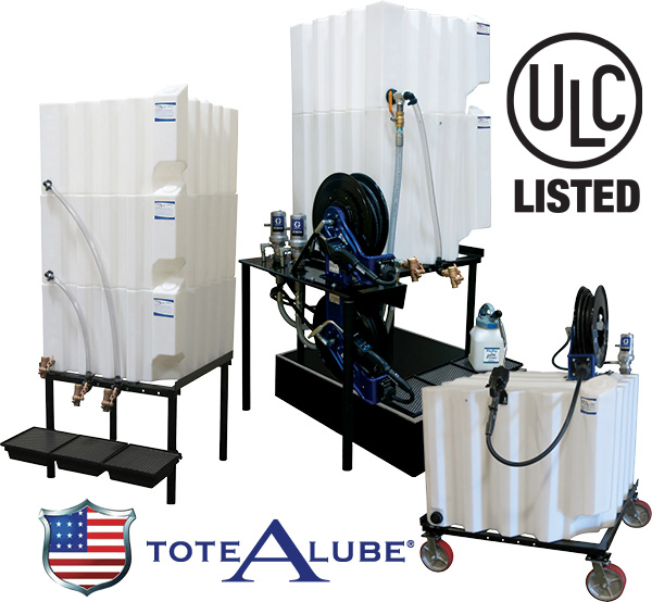 Tote-A-Lube Poly Tanks