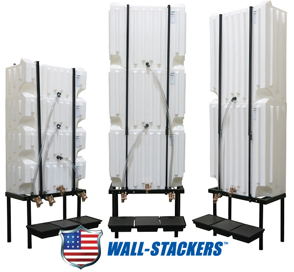 Wall-Stacker Poly Tanks