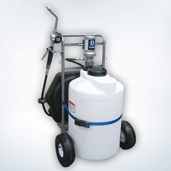 Oil Tank Dispense Cart