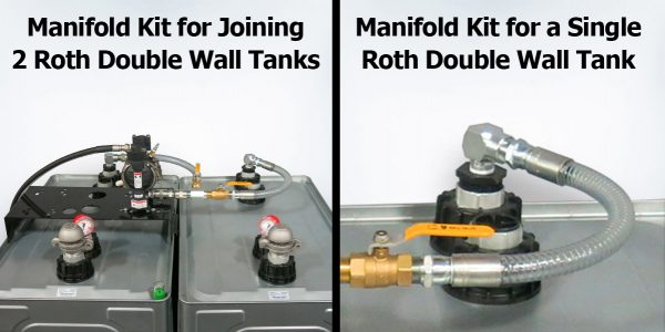 Roth Double Walled Tank Manifold Kits