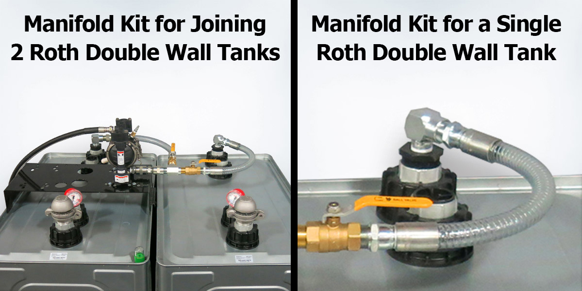 Roth Double Wall Oil Tank Manifold Kits