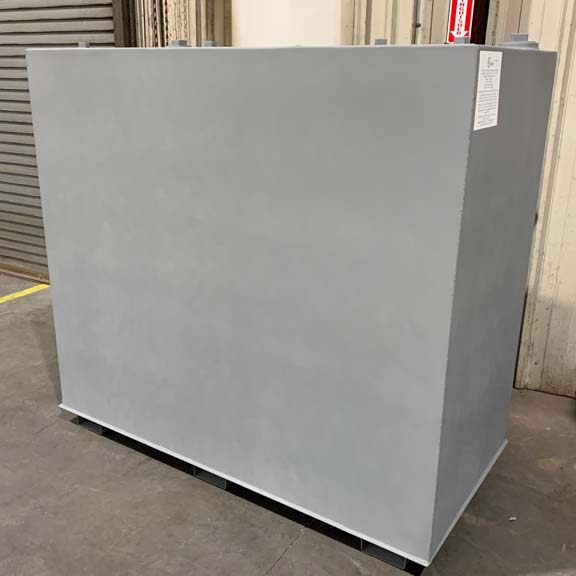 Tank with Gray Primer