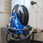 "Shelf Mounts One Pump/Hose Reel. For 32"" or 42"" Tote-A-Lube Tanks."