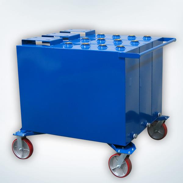 3 Fluids ((3) 60 Gal Storage Tanks)