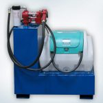 Diesel and Diesel Exhaust Fluid Combo Transfer Tank