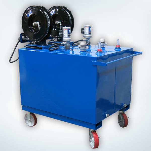 Mobile Steel Tank Lube Carts