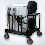 Portable Lube Skid with Casters