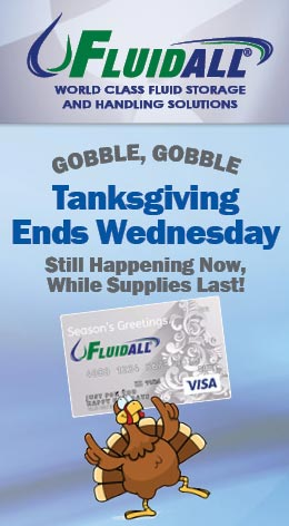 Fluidall's Tanksgiving Promotion