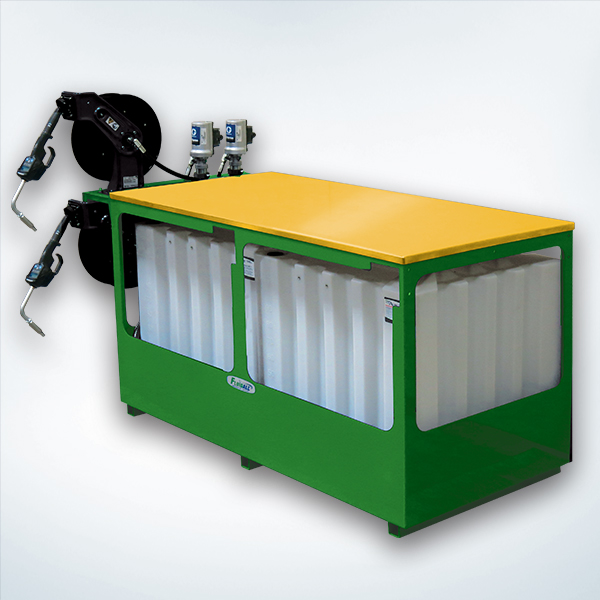 Work Bench Tank For Oils And Automotive Fluids Fluidall