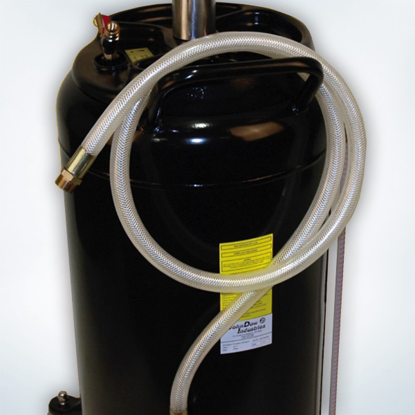 Self Evacuating Portable Oil Drain Tank From Fluidall 25