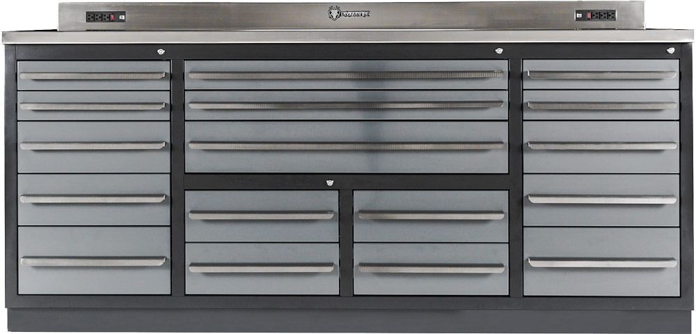 Heavy-Duty Shop WorkBench with Drawers